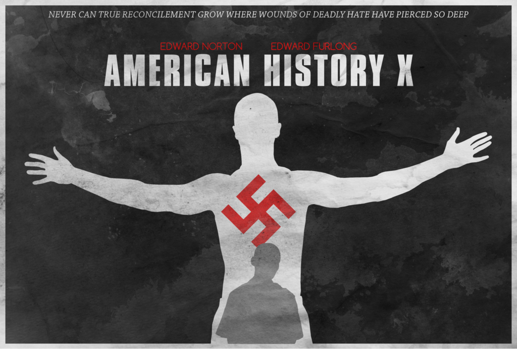 american history x and racism essay Access to over 100,000 complete essays influential man in american history threw malcom x, american in american history x, racism is learned by.